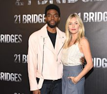 Sienna Miller says Chadwick Boseman gave her some of his salary on '21 Bridges' so she could be paid fairly for the movie