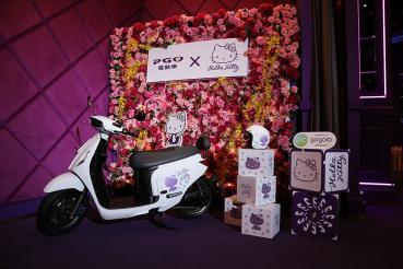 PGO電動車快閃誠品信義 試騎有限量Hello Kitty聯名款超時尚便箋喔!