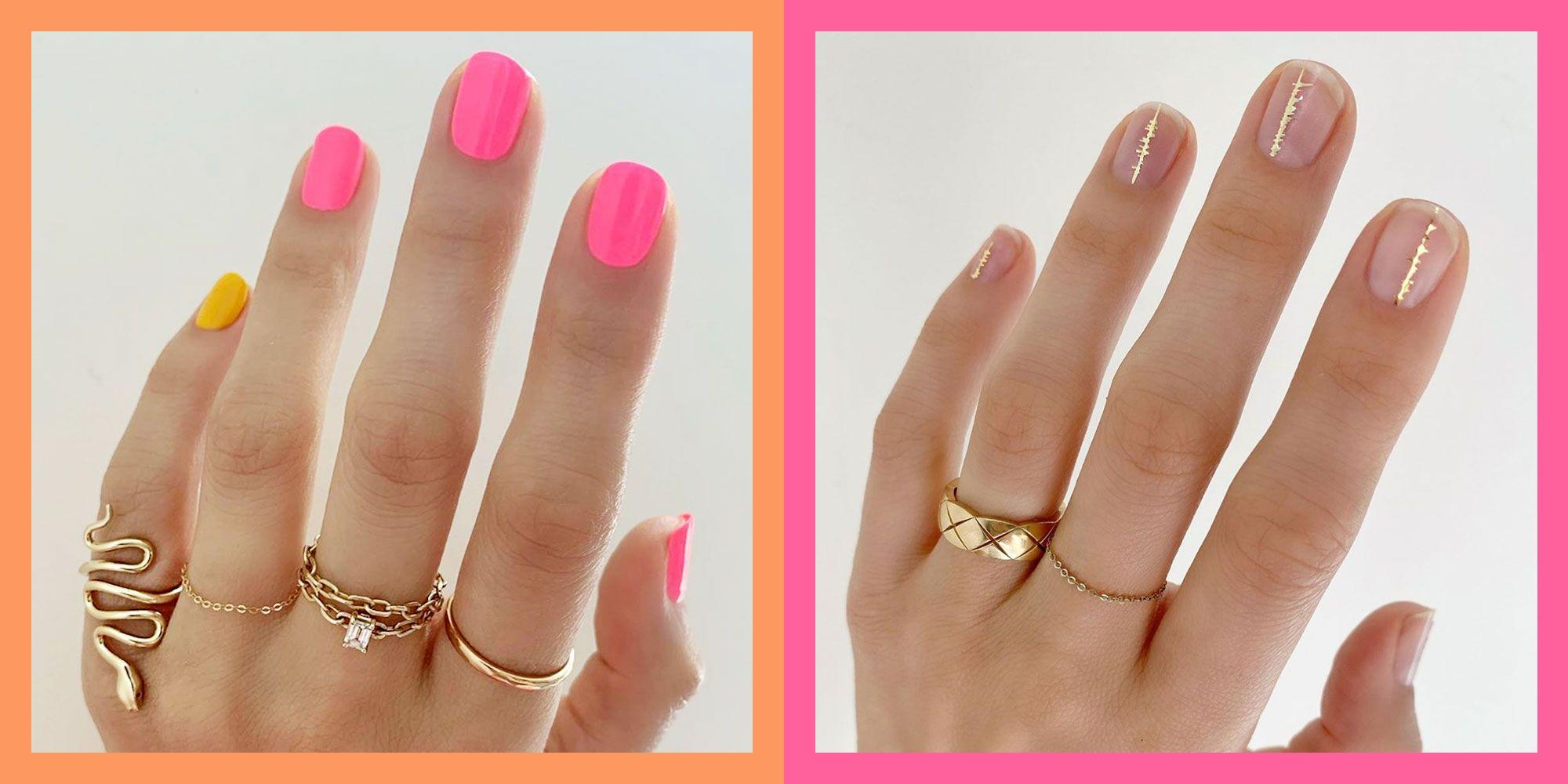 These Nail Art Designs are Perfect for Short Nails