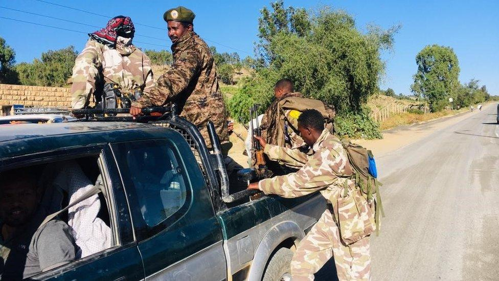 Tigray crisis: Local residents ordered to defend against Ethiopia army