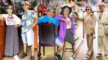 Blogueirinhos! Casal de idosos cria looks com roupas esquecidas em lavanderia