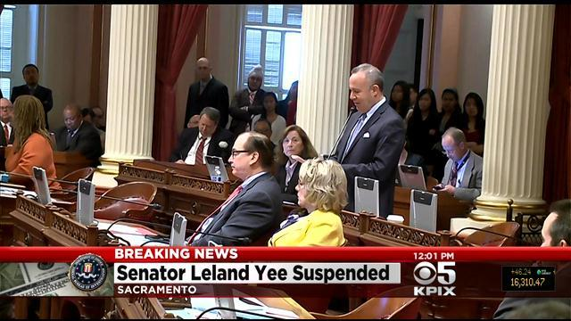 Leland Yee, 2 Other Democrats Suspended From State Senate With Pay