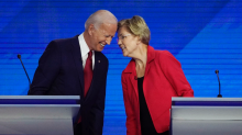 Joe Biden and Elizabeth Warren are pulling ahead of the Democratic field, but voters don't think they can beat Trump