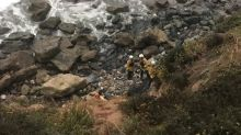 Woman survives seven days trapped after crashing car off California cliff by drinking radiator water