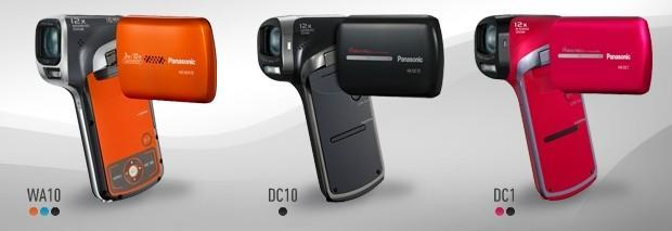 Panasonic's new suite of colorful camcorders hits stores this July, gets priced right now