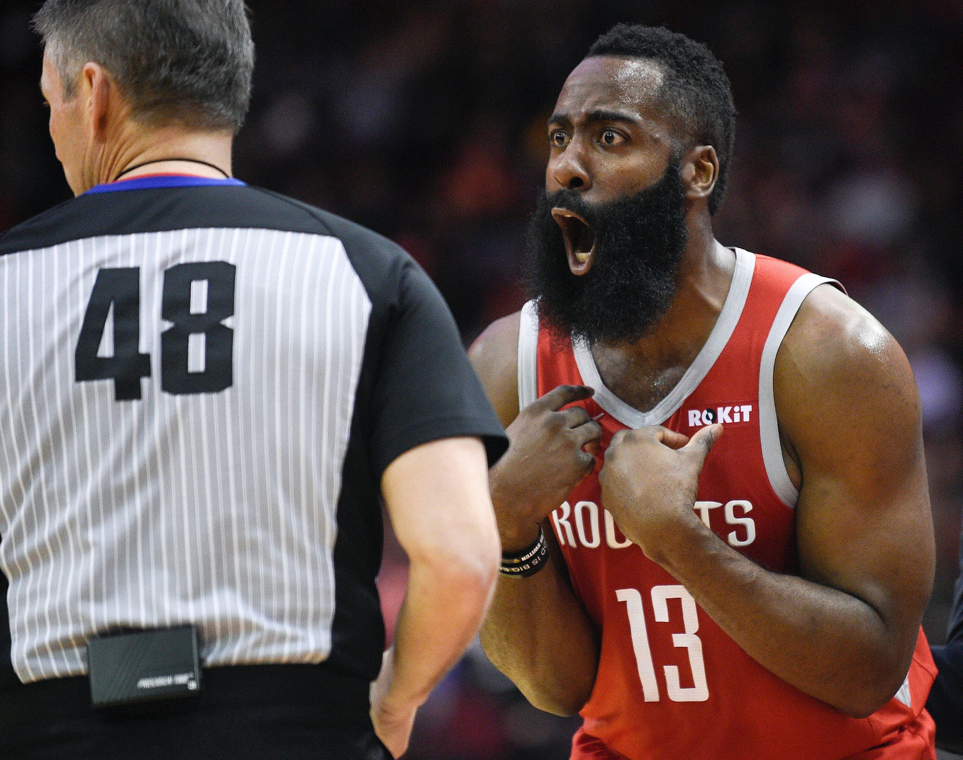 4b2c73f87a6b Referee assigned to Rockets-Warriors Game 2 has feud with Rockets