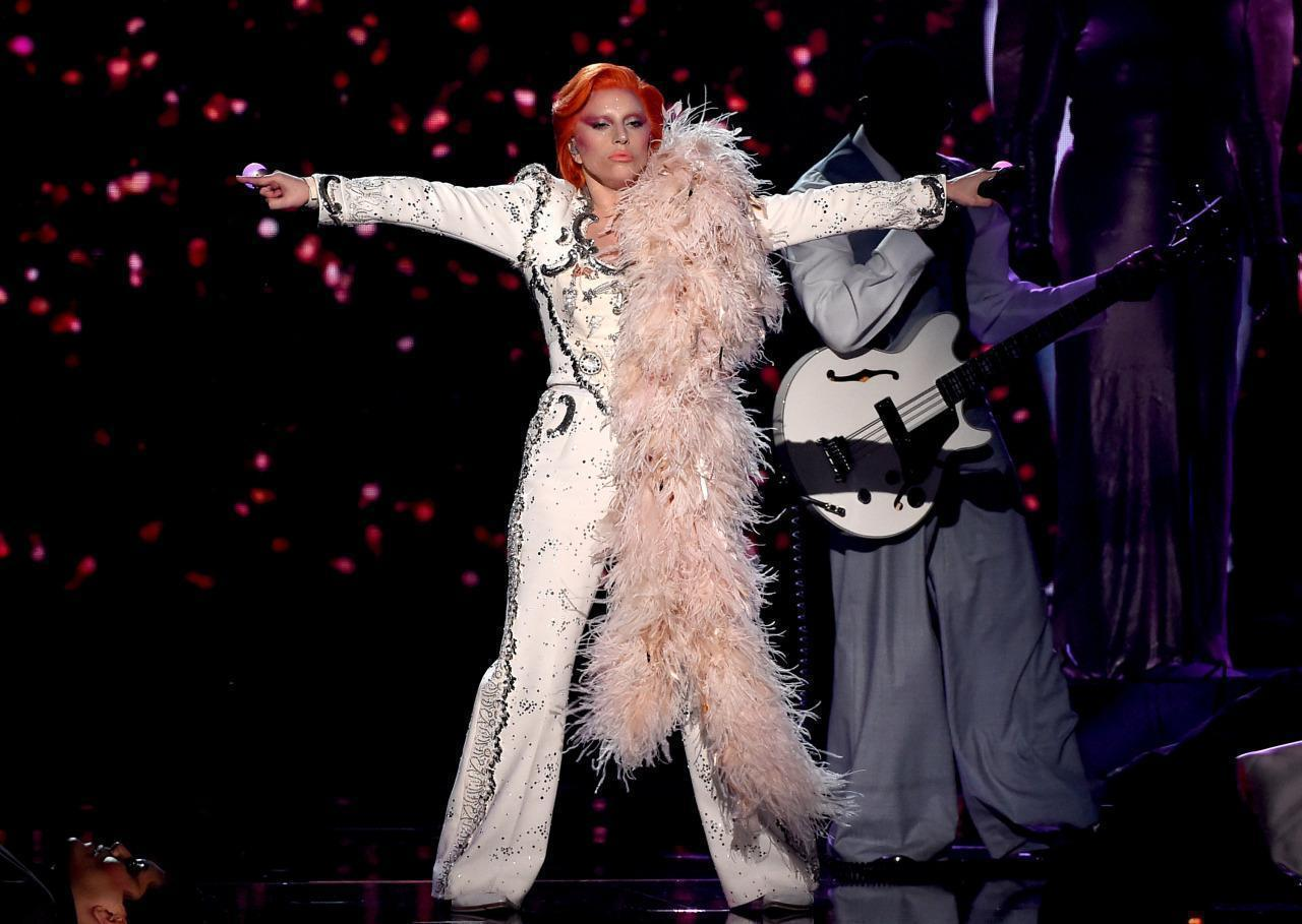 Little Wonder: Lady Gaga Stuns at Grammys With David Bowie Tribute