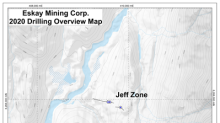 Drill Results Including 5.1 Meters Grading 31.23 gpt Au and 138.1 gpt Ag and 4.1 Meters Grading 11.09 gpt Au and 44.2 gpt Ag Confirm Discovery of Two Precious Metal-Rich VMS Deposits for Eskay Mining