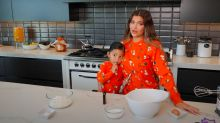 This video of Kylie and Stormi making Halloween biscuits is adorable