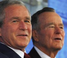 George Bush issues joint statement with father condemning 'racial bigotry and hatred' in Charlottesville