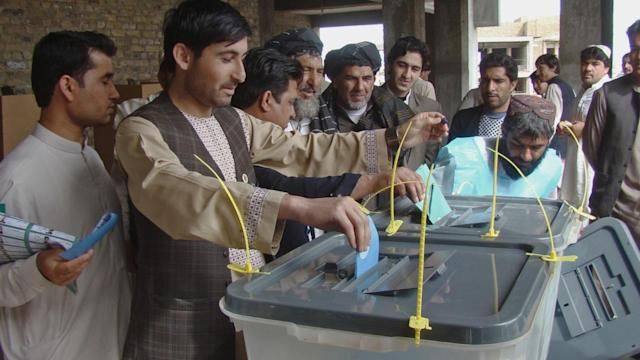 Reporter's Scenes From Election Day in Afghanistan