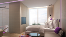 New luxury hotel YOTEL Singapore features self check-in and check-out, SmartBeds