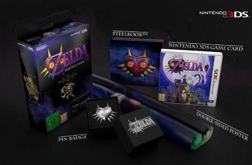 Check out the Majora's Mask 3D Special Edition for Europe