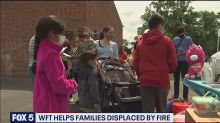 Washington Football Team players come together to help families who lost everything in fire