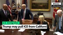 Trump Threatens to Pull ICE From California