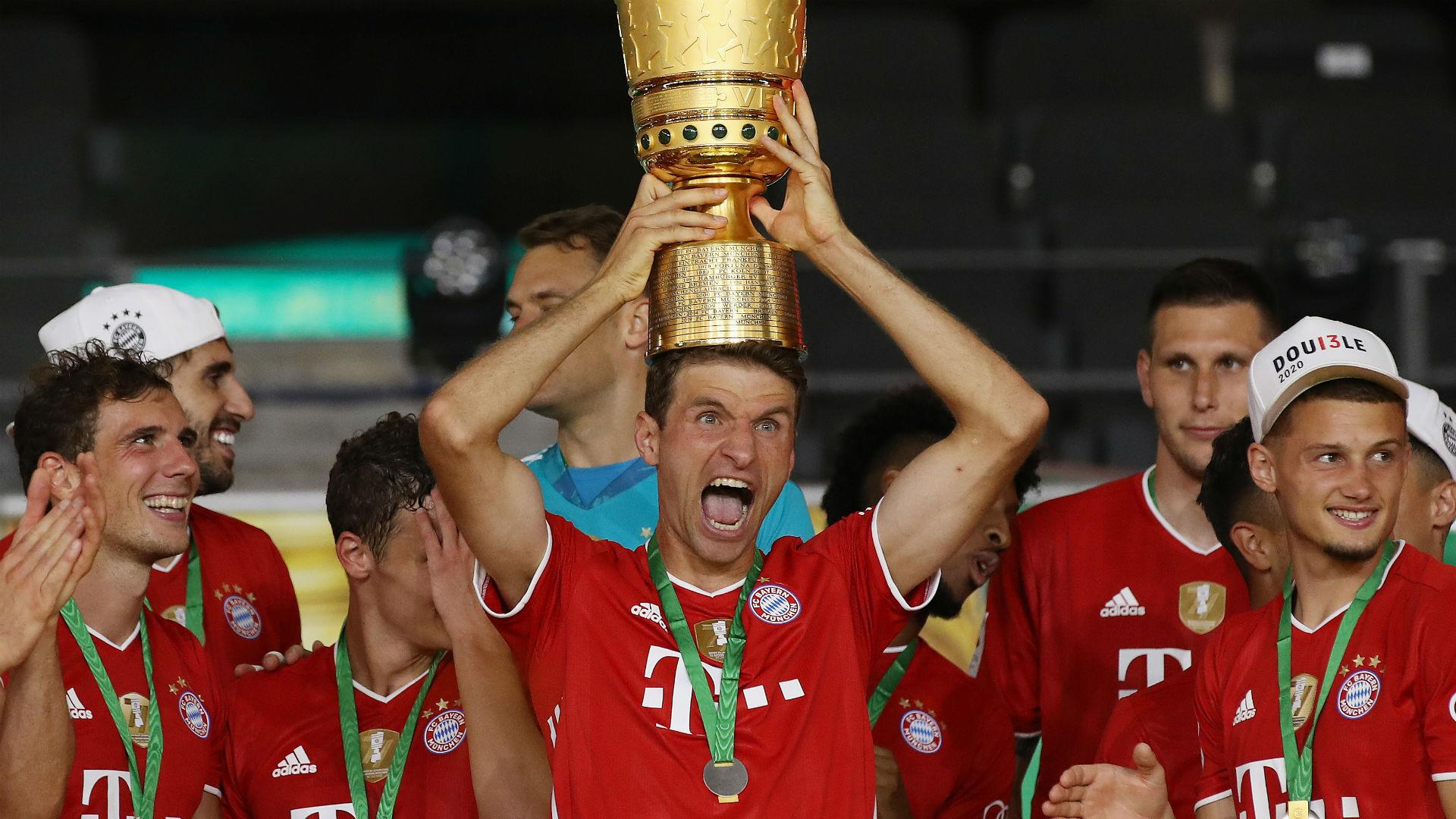 Winning DFB-Pokal in empty Olympiastadion 'hurts' Muller