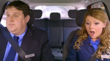 Peter Kay unveils new 'Car Share' cancer scare sketch