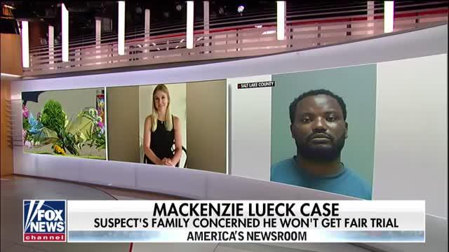 Family of suspect in Mackenzie Lueck murder case raises concerns he won't get a fair trial