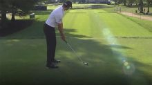 'That's a disgrace': Golfer's pre-shot routine causes controversy