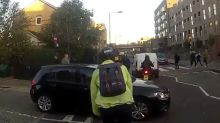 Journalist films daily commute to show how dangerous cycling in London is