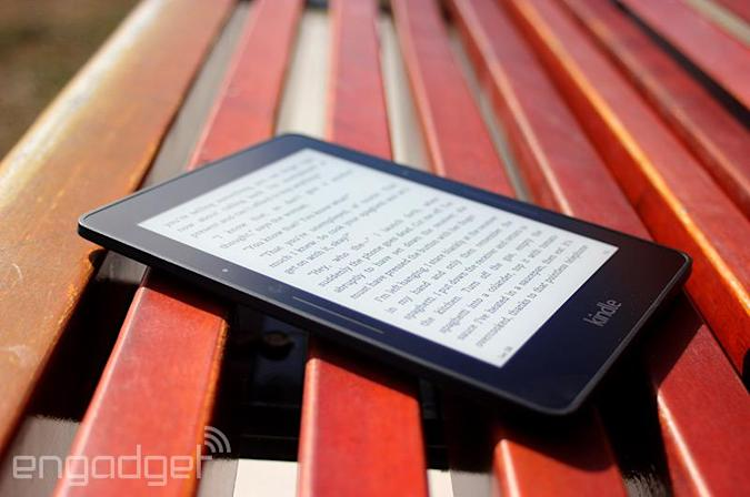 Amazon's flagship Kindle Voyage e-reader now available in the UK for £169
