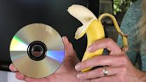 Can You Fix a Scratched DVD with a Banana?