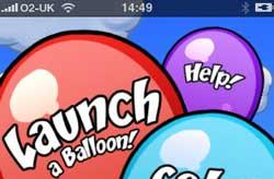 Balloons! Sending out a mystery message on your iPhone