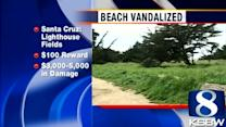 Gangsters hit Santa Cruz Lighthouse Field State Beach