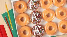 Krispy Kreme Is Giving Away Free Coffee and Donuts to Teachers This Week