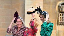 Los dos vestidos de invitada de Zara que se colaron en la boda de Eugenia de York