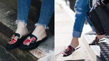 #POPBEE 專題:街拍達人追捧的 Mules 潮流原來一直在我們身邊!90 後女生把繡花鞋變成 Iris Apfel 也愛的時尚單品!