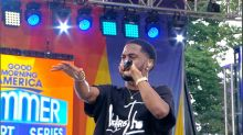 Big Sean performs 'Moves' exclusively for the 'GMA' audience