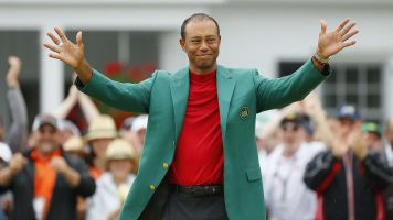 Tiger sets menu for Champions Dinner