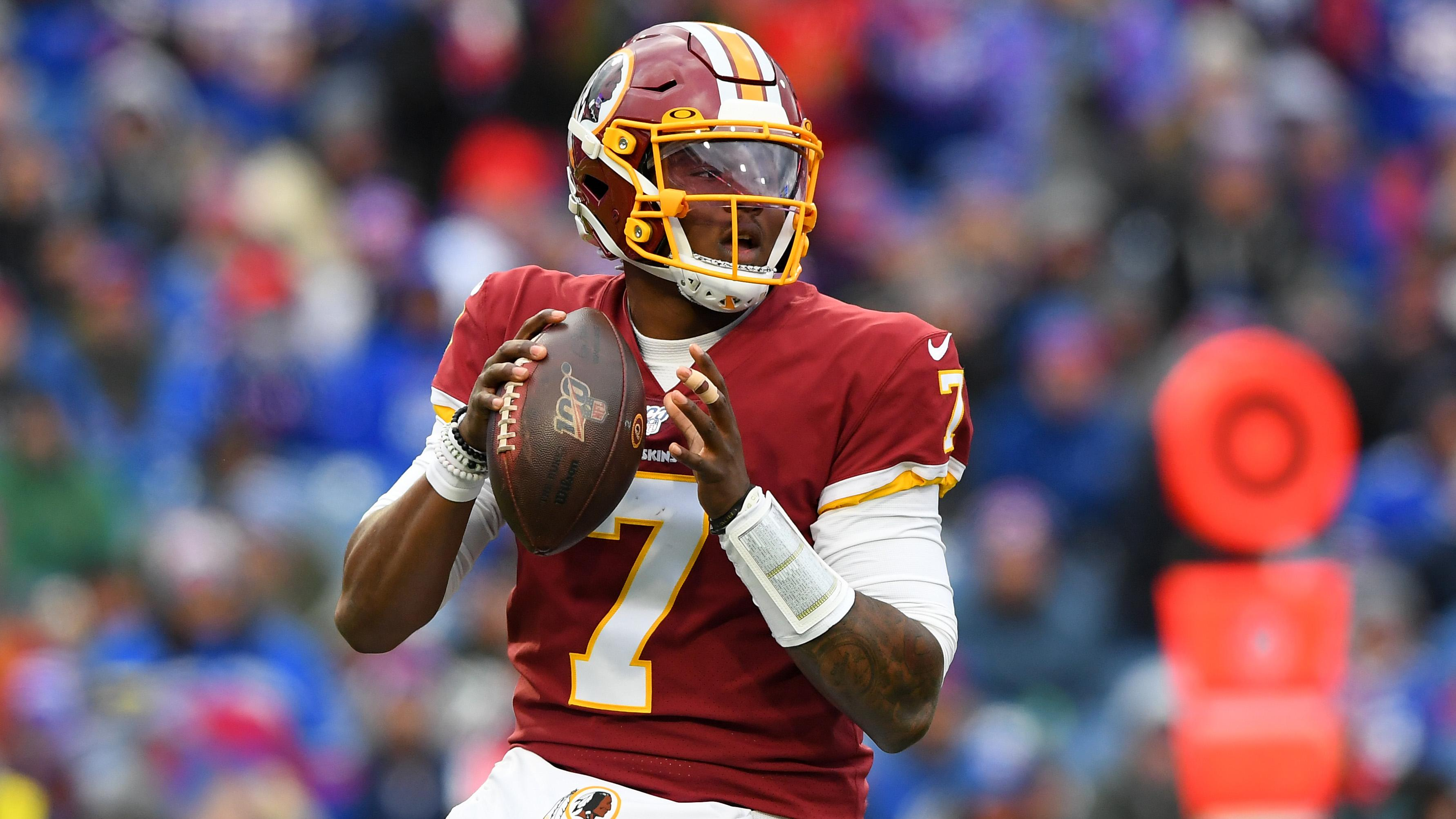 If the Redskins go with a new name, quarterback Dwayne Haskins has a favorite - Yahoo Sports