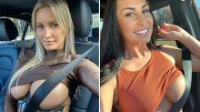 X-rated snaps hijack viral Instagram seat belt challenge
