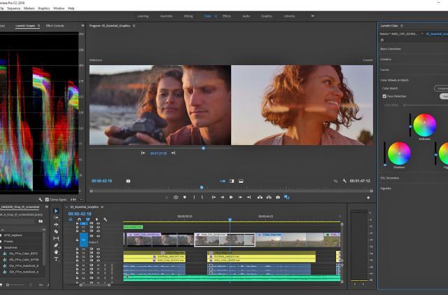 Adobe's AI will automatically color-match shots in Premiere