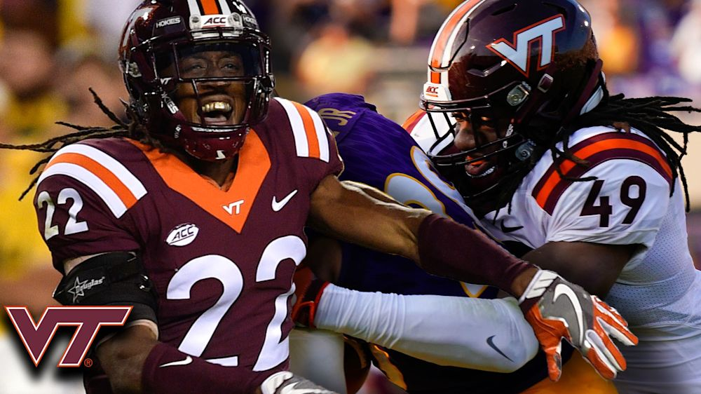 Terrell and Tremaine Edmunds are on their way to maintaining their family's NFL legacy. (ACC Digital Network)