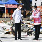 Indonesian leader promises compensation for plane crash