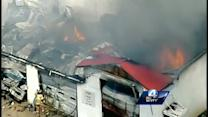 Volunteer fire station destroyed by fire