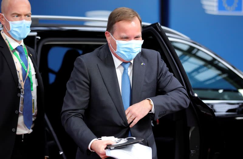 Swedish PM warns pandemic respite over as deaths start rising