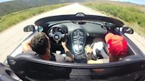 Bugatti Veyron Supercar: Cockpit views at 238.5mph
