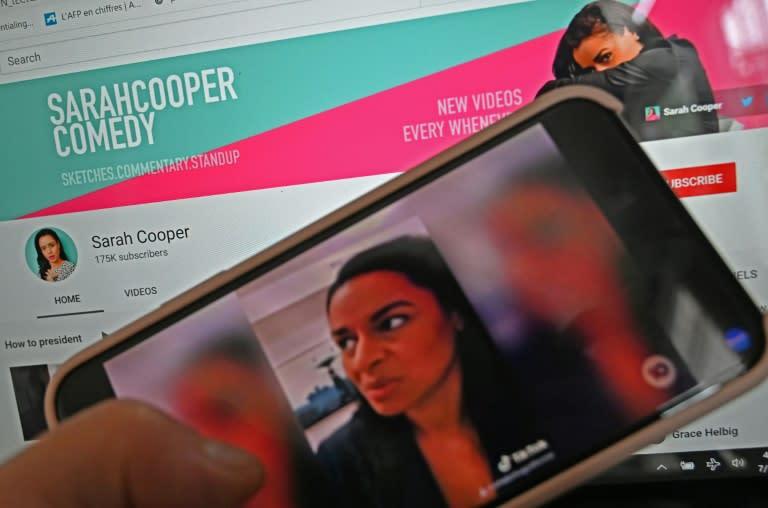 Trump lip-sync star Sarah Cooper gets Netflix special