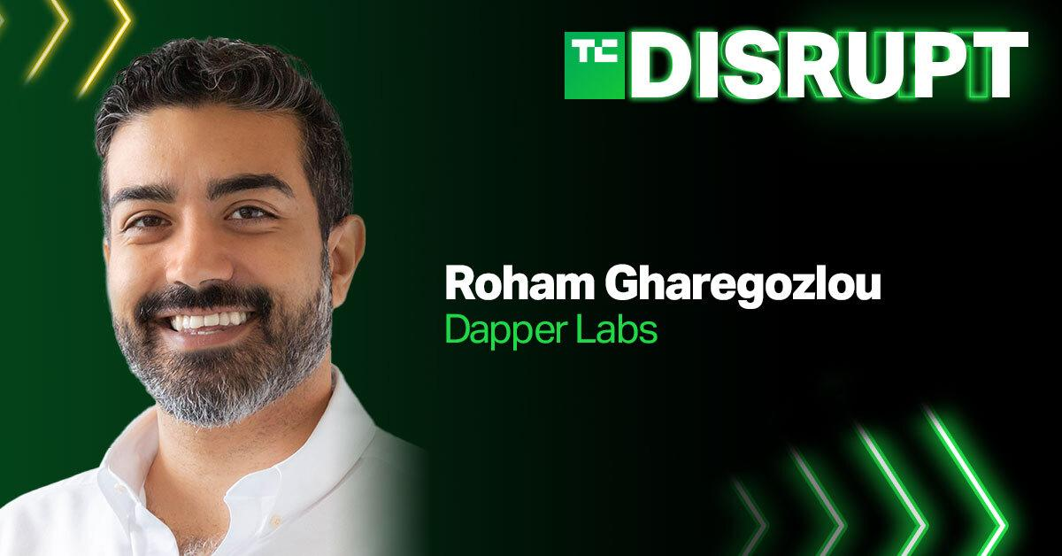 Dapper Labs CEO Roham Gharegozlou is coming to Disrupt - Yahoo Philippines News