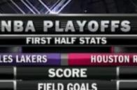 The NBA playoffs, presented by World of Warcraft
