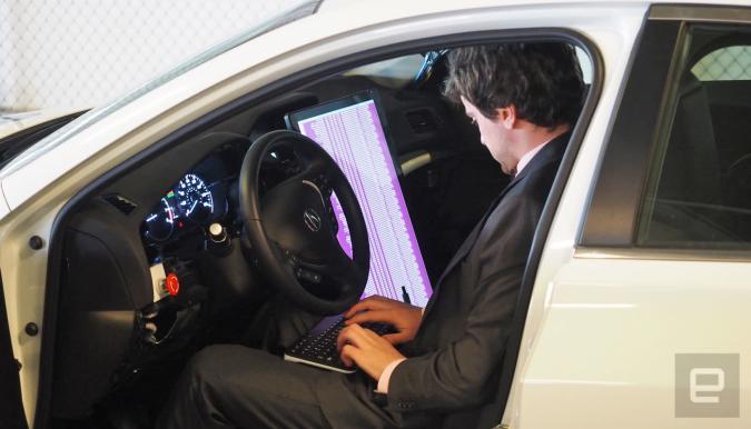 Riding shotgun in a DIY self-driving car