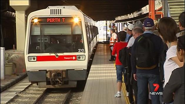 Perth's train shutdown