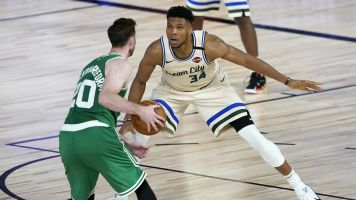 Giannis primed to haul in rare combo of awards