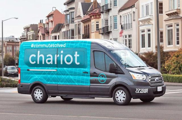 Ford's Chariot shuttle service will shut down in March