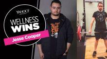 Jesse Cooper widerte sein eigenes Gewicht an, weshalb er sich entschloss, sein Leben zu ändern - und 63 Kilo zu verlieren