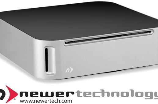 NewerTech crams an optical drive in the miniStack Max, combines SD reader and up to 4TB storage